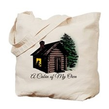 A Cabin of my own Tote Bag