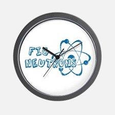 Fig Neutrons Wall Clock