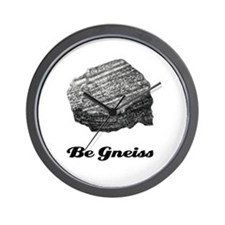 Be Gneiss Wall Clock