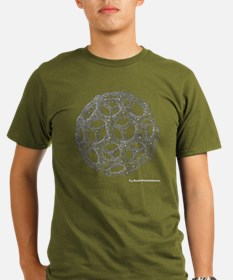 Buckyball Pocket Black T-Shirt T-Shirt