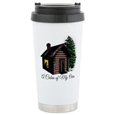 A Cabin of my own Travel Coffee Mug