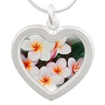 plumeria.jpg Silver Heart Necklace