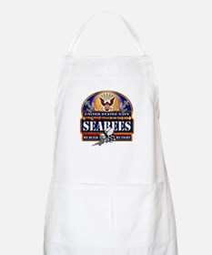 US Navy Seabees Blue We Fight Apron