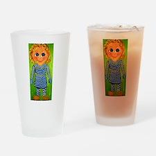 Mrs. Beasley Drinking Glass