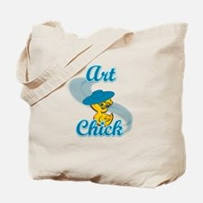 Art Chick #3 Tote Bag