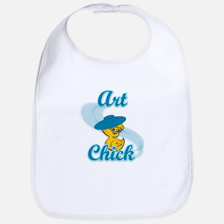 Art Chick #3 Bib