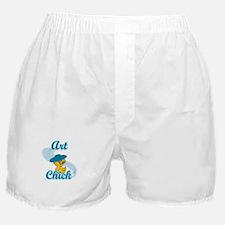 Art Chick #3 Boxer Shorts