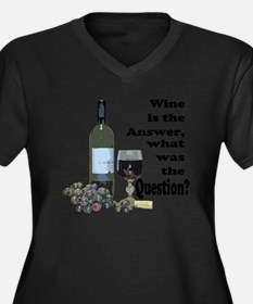 Wine is the answer ~ what was the question? Women'