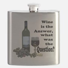 Wine is the answer ~ what was the question? Flask