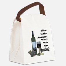 Wine is the answer ~ what was the question? Canvas
