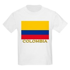 Flag of Colombia Kids T-Shirt