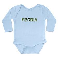 Peoria, Vintage Camo, Onesie Romper Suit