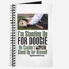 I'm Standing Up for Doogie Journal