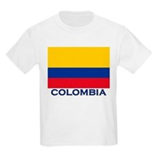 Colombia Flag Gear Kids T-Shirt