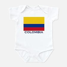 Colombia Flag Gear Infant Bodysuit