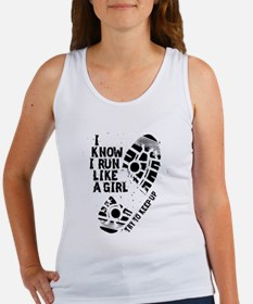I Know I Run Like a Girl Women's Tank Top