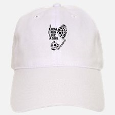 I Know I Run Like a Girl Baseball Baseball Cap