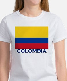 Colombia Flag Gear Women's T-Shirt