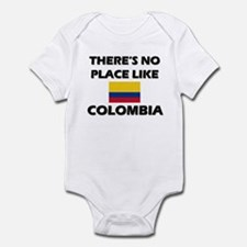 There Is No Place Like Colombia Infant Bodysuit