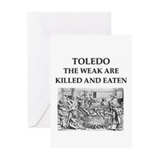 toledo Greeting Card