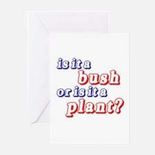 Bush or Plant? Greeting Cards (Pk of 10)