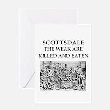 scottsdale Greeting Card