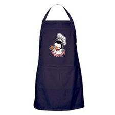 Chef Penguin (2) Apron (dark)