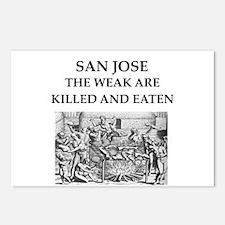 san jose Postcards (Package of 8)