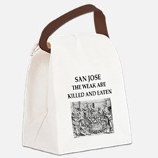 san jose Canvas Lunch Bag