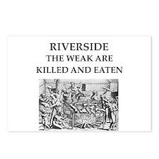 riverside Postcards (Package of 8)