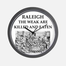 raleigh Wall Clock