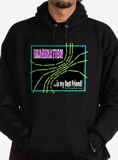 Imagination-Neil Young/t-shirt Hoodie