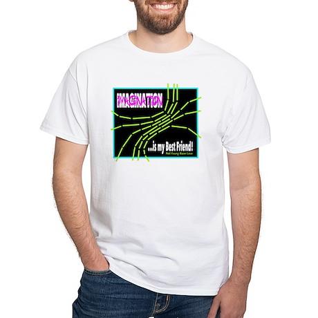 Imagination-Neil Young/t-shirt White T-Shirt