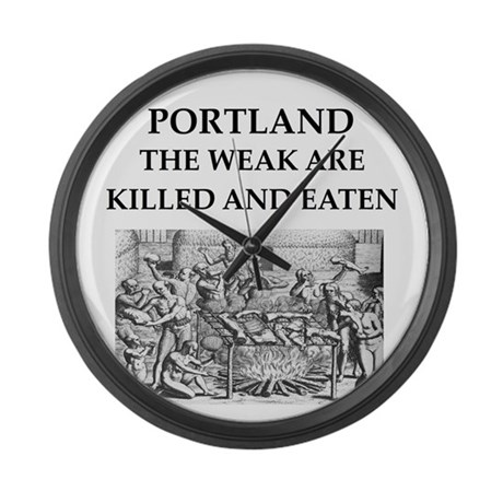 portland Large Wall Clock