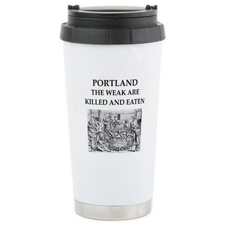 portland Stainless Steel Travel Mug