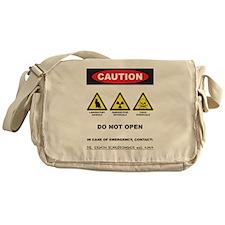 Caution! Schrodinger's Cat Messenger Bag