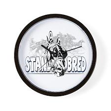 Standardbred Racing Wall Clock