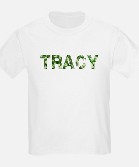 Tracy, Vintage Camo, T-Shirt