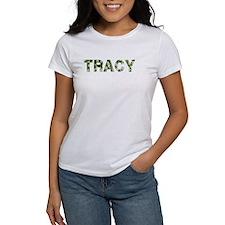 Tracy, Vintage Camo, Tee