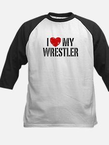 I Love My Wrestler Tee