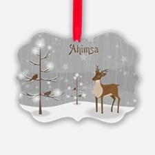 Ahimsa Holiday Ornament
