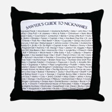 Cute Flight 815 Throw Pillow