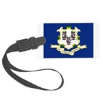 Flag of Connecticut Large Luggage Tag