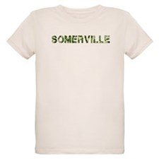 Somerville, Vintage Camo, T-Shirt