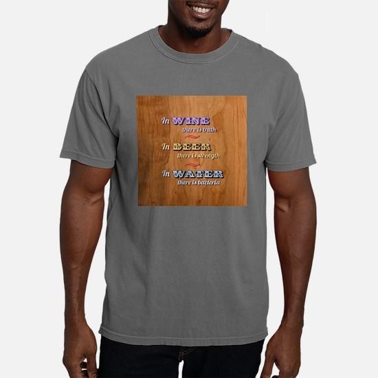 Cute Vino veritas Mens Comfort Colors Shirt