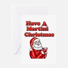 Have A Martini Christmas Greeting Card