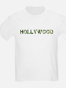 Hollywood, Vintage Camo, T-Shirt