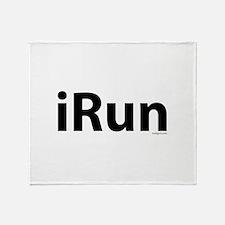 iRun Throw Blanket