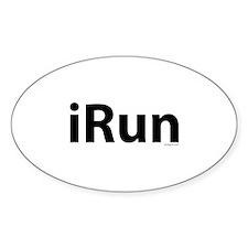 iRun Bumper Stickers