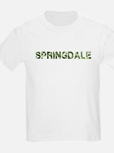Springdale, Vintage Camo, T-Shirt